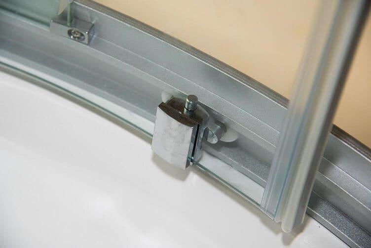 Vidalux Pure E 800mm X 800mm Quadrant Hydro Shower Cubicle